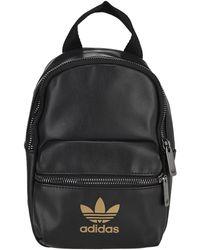 adidas Originals Logo Printed Mini Backpack - Black