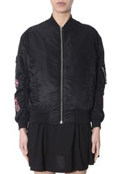 McQ Swallow Patch Bomber - Black