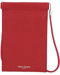Maison Margiela Iphone Pouch Holder - Red