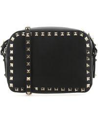 Valentino Garavani Rockstud Camera Bag - Black