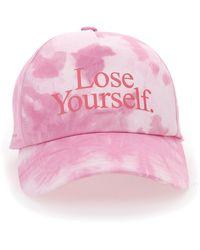 Paco Rabanne Lose Yourself Tie-dye Baseball Cap - Pink