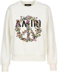 Amiri - Graphic Print Sweatshirt - Lyst