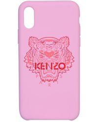 KENZO Tiger Iphone X/xs Case - Pink