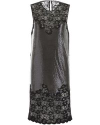 Paco Rabanne Laced Chainmail Dress - Black