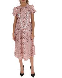 Marc Jacobs The '40s Dress - Pink