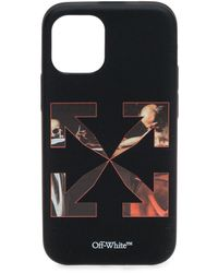 Off-White c/o Virgil Abloh Caravaggio Arrow Iphone 12 Mini Case - Black