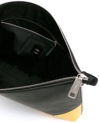 Fendi Corner Bugs Eye Messenger Bag - Black
