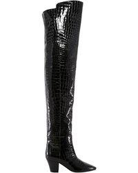 Saint Laurent - Over The Knee Boots - Lyst