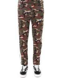 Palm Angels - Camouflage Logo Track Pants - Lyst