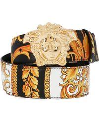 Versace Heritage Reversible Belt - Multicolour