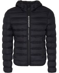 Givenchy Full Zip Padded Jacket - Black