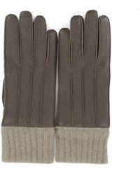 Ferragamo - Ribbed Cuff Gloves - Lyst