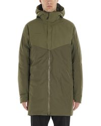 Mammut Delta X Thermo Hooded Technical Parka - Green