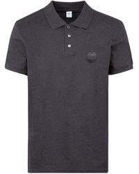 Berluti Logo Patch Polo Shirt - Grey