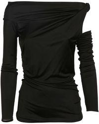 Pinko Cotton Sweater - Black