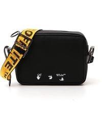 Off-White c/o Virgil Abloh Logo Print Crossbody Bag - Black