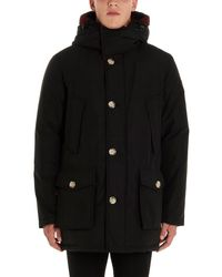Woolrich Arctic Reversible Down Coat - Black