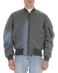 Martine Rose Oversized Bomber Jacket - Grey