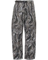 Stussy Highland Abstract Printed Trousers - Grey