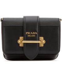 Prada Cahier Belt Bag - Black