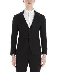 Maurizio Miri Keanu Tailored Blazer - Black
