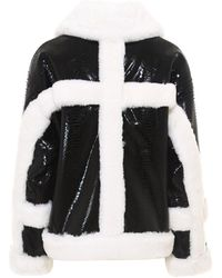 Stand Studio Hester Faux Leather Jacket - Black