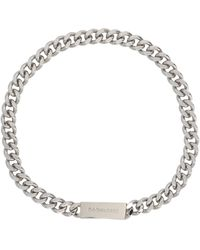 DSquared² Nem011437200001f124 Other Materials Necklace - Metallic