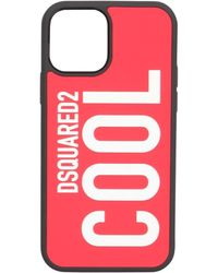 DSquared² Iphone 12 Pro Cover - Red