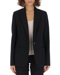 The Row Double-faced Suit Jacket - Black