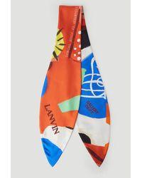 Lanvin X Gallery Dept. Printed Scarf - Multicolour
