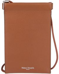 Maison Margiela Iphone Pouch Holder - Brown
