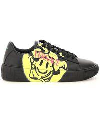 Versace - Greca Medusa Smile Sneakers - Lyst