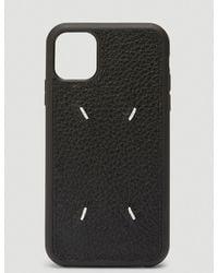 Maison Margiela Iphone 11 Case - Black