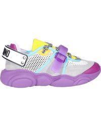 Moschino Roller Skates Teddy Sneakers - Multicolor