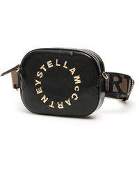 Stella McCartney Logo Motif Belt Bag - Black