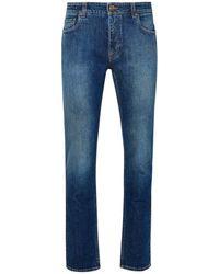 Etro Jeans Benessere In Cotone Organico Blu - Blue