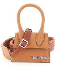 Jacquemus Le Chiquito Mini Tote Bag - Brown