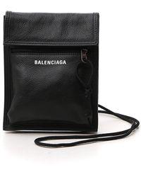 Balenciaga Explorer Small Pouch Bag - Black