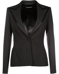 Dolce & Gabbana Women's Jacket Blazer - Black