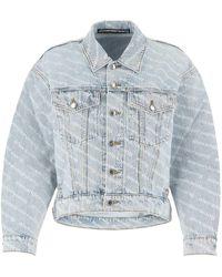 Alexander Wang Denim Jacket S - Blue