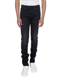 Saint Laurent Slim Fit Jeans - Black