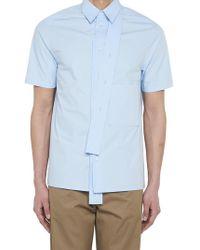 Valentino - Strap Short Sleeved Shirt - Lyst
