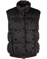 Moncler Genius Sash Sleveless Down Jacket By Simone Rocha - Black