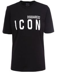 DSquared² Icon T-shirt - Black