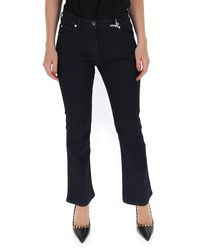 Valentino Vlogo Flared Jeans - Blue