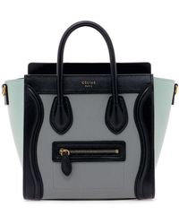 Céline - Colour Block Nano Luggage Bag - Lyst