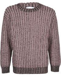 Ferragamo Chunky Knit Sweater - Multicolour