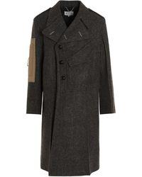 Maison Margiela Other Materials Outerwear Jacket - Grey