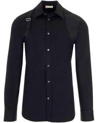 Alexander McQueen Harness Shirt - Black