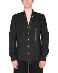 "Rick Owens ""larry"" Shirt - Black"